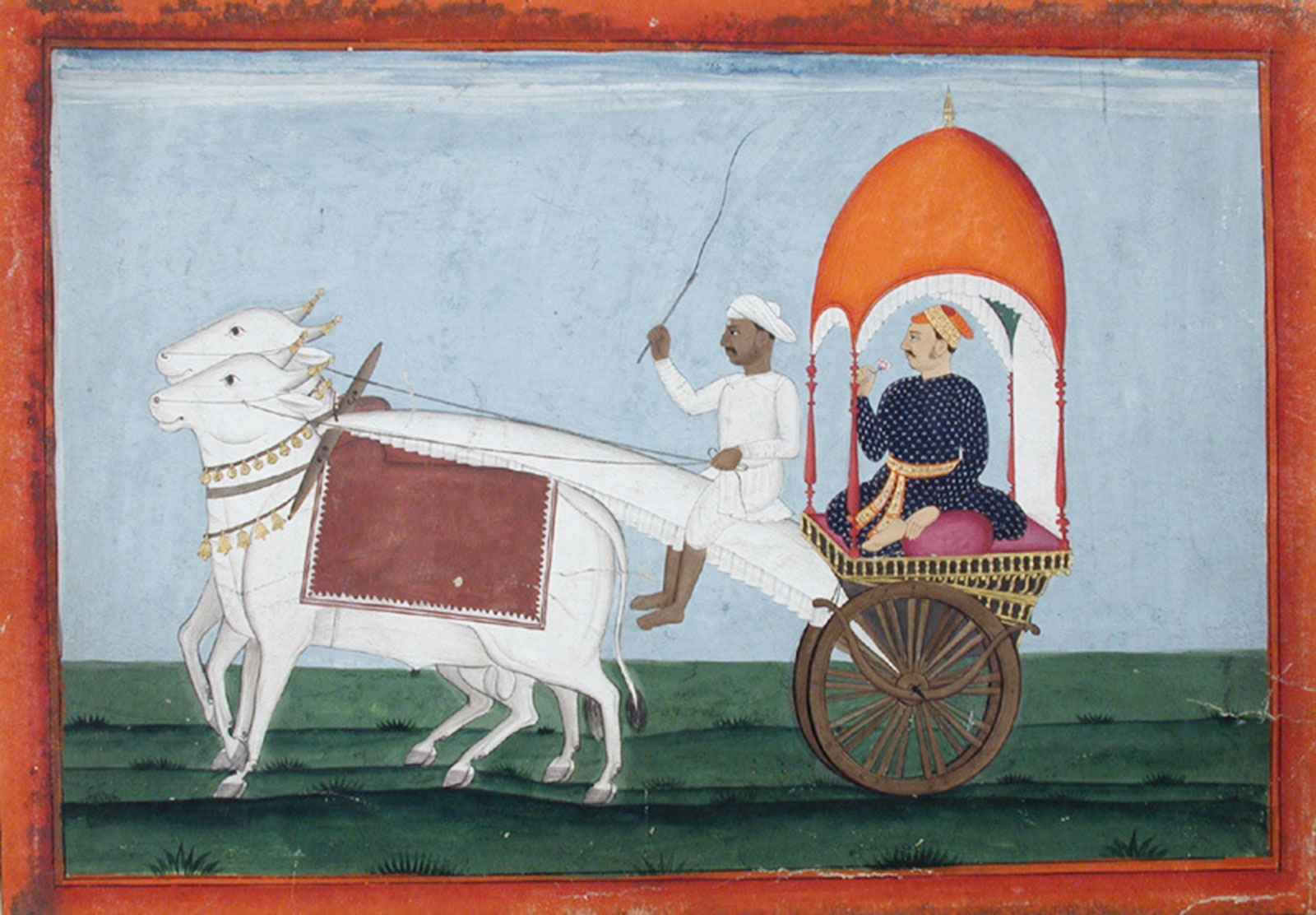 Noble Bullock Cart, Edwin Binney 3rd Colelction, 1990.1433